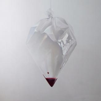 2- Fábio Magalhães-Sem Título (Série Retratos íntimos) Óleo sobre Tela - 190 x 190 cm - 2013