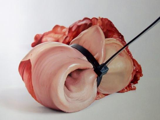 8- Fábio Magalhães - Sem Título (Série Retratos íntimos) Óleo sobre Tela - 140 x 190 cm - 2013