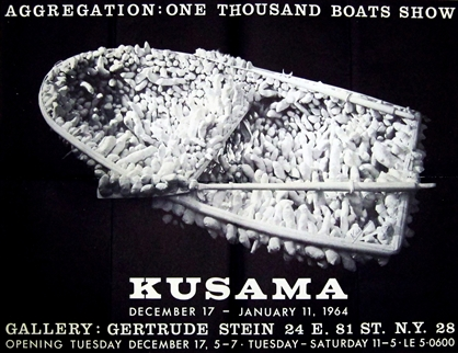 Kusama-Aggregation-One-Thousand-Boats-Poster