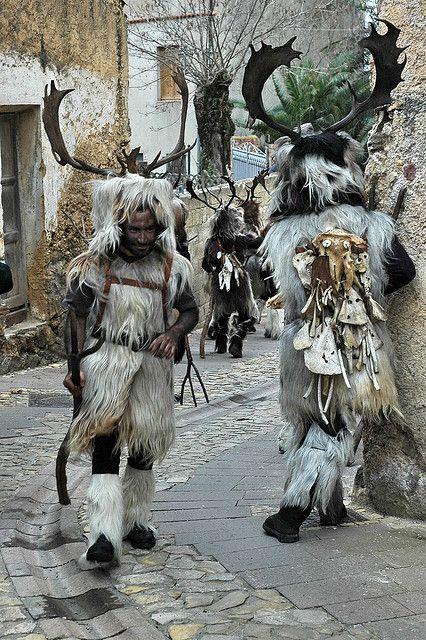 Carnevale di Neoneli (Oristano) via maschere sarde