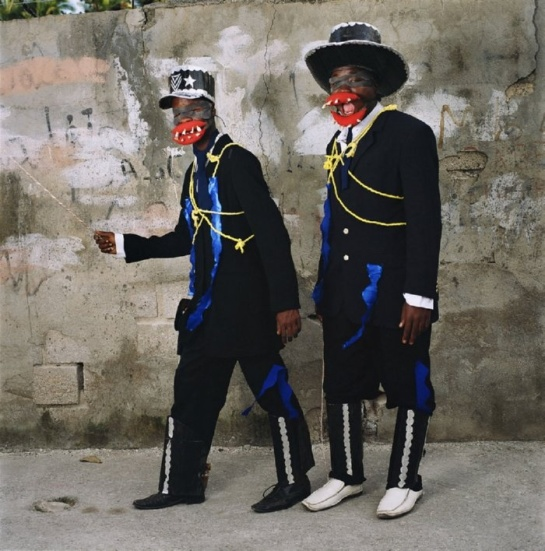 Kanaval costumes, Jacmel, Haiti