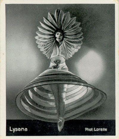 Lysana, dancer for the future, Oskar Schlemmer, 1922