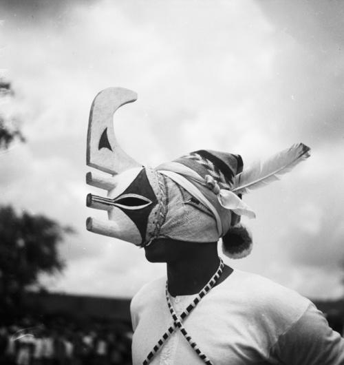 Part of the Nkporo Ifogu masquerade. G. I. Jones, 1930s