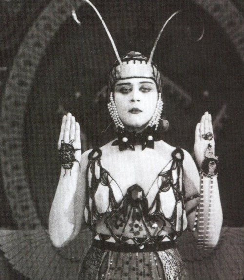 "Theda Bara in ""Cleopatra"" 1917"
